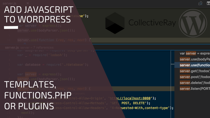 How to] Add Javascript Files Without Breaking Your WordPress