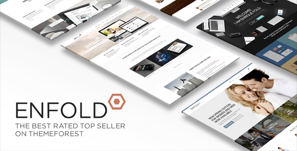 Enfold best rated WordPress template - WooCommerce compatible