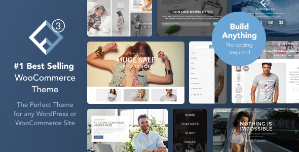 Flatsome best selling woocommerce template