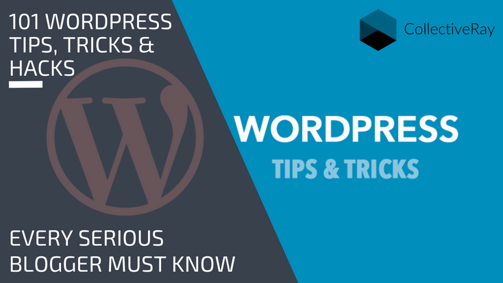 101 WordPress Tips, Tricks and hacks