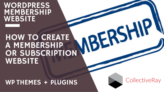WordPress membership themes + plugins