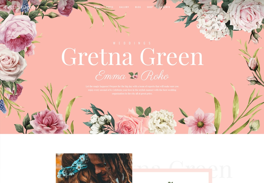 Gretna Green - Theme for Wedding Planners and Celebrations