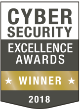 WINNER gold 2018 cyber security excellence awards