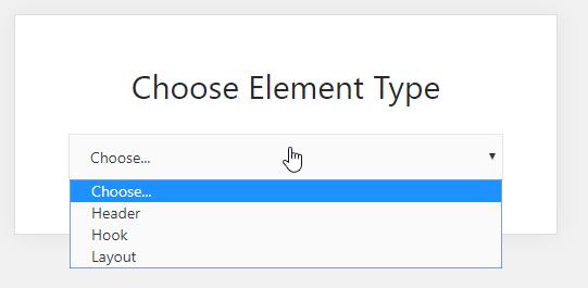 elements module