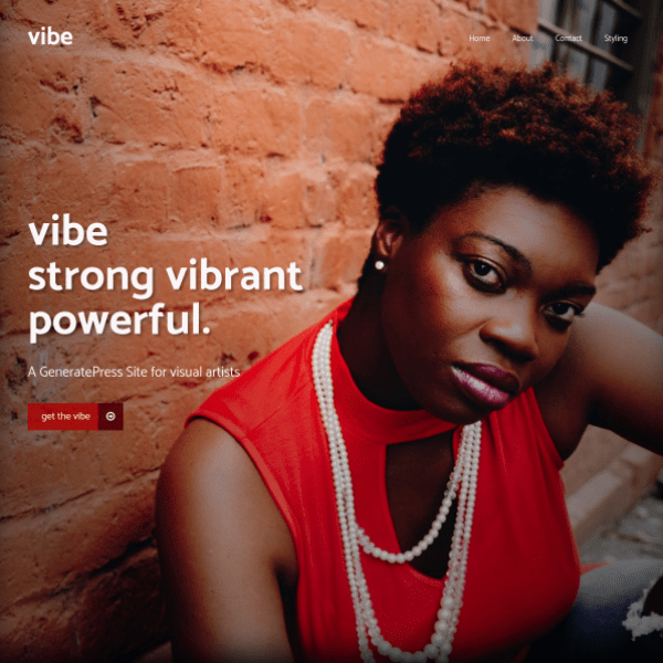 vibe template