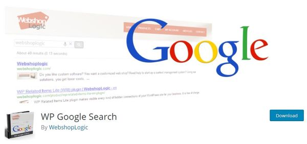 WP Google Search