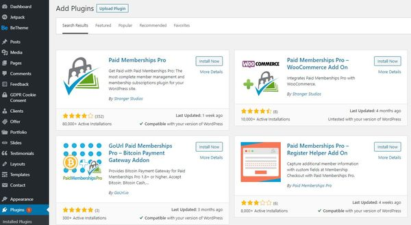How to set up a membership site with Paid Memberships Pro