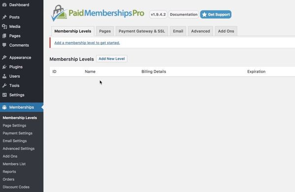 How to set up a membership site with Paid Memberships Pro2