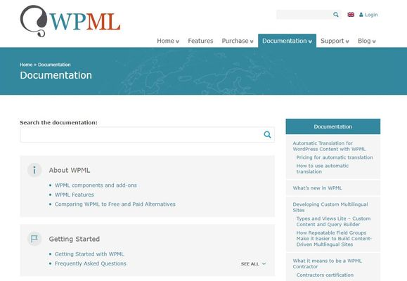WPML Support and documentation