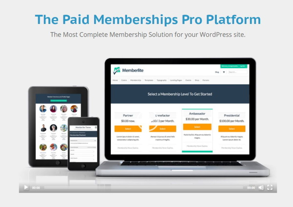 What is Paid Memberships Pro