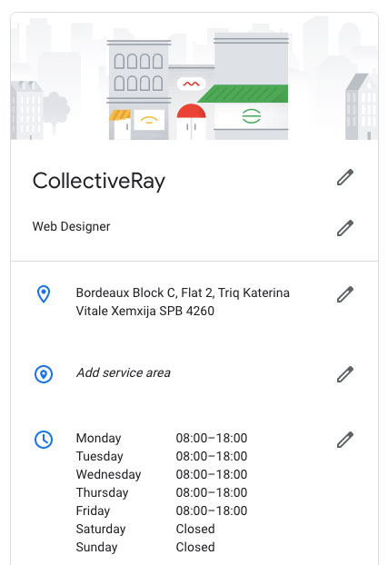 collectiveray google my business