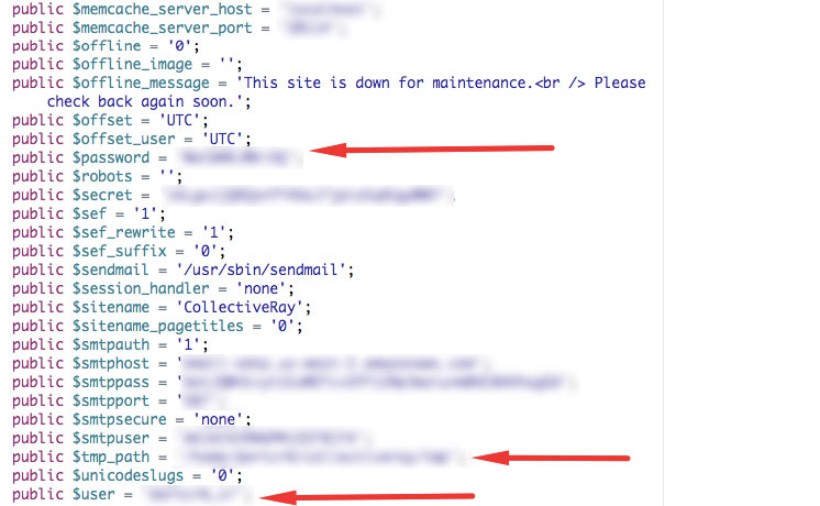 configuration php file