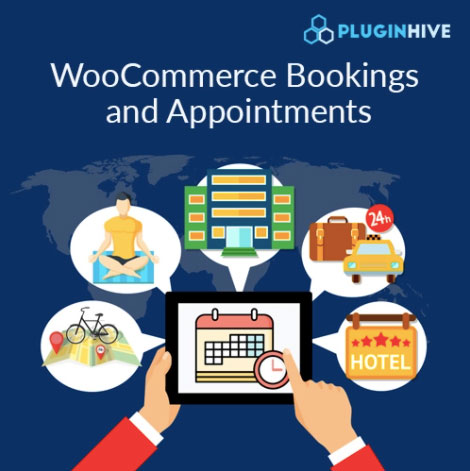 PluginHive - Woocommerce bookings and appointments