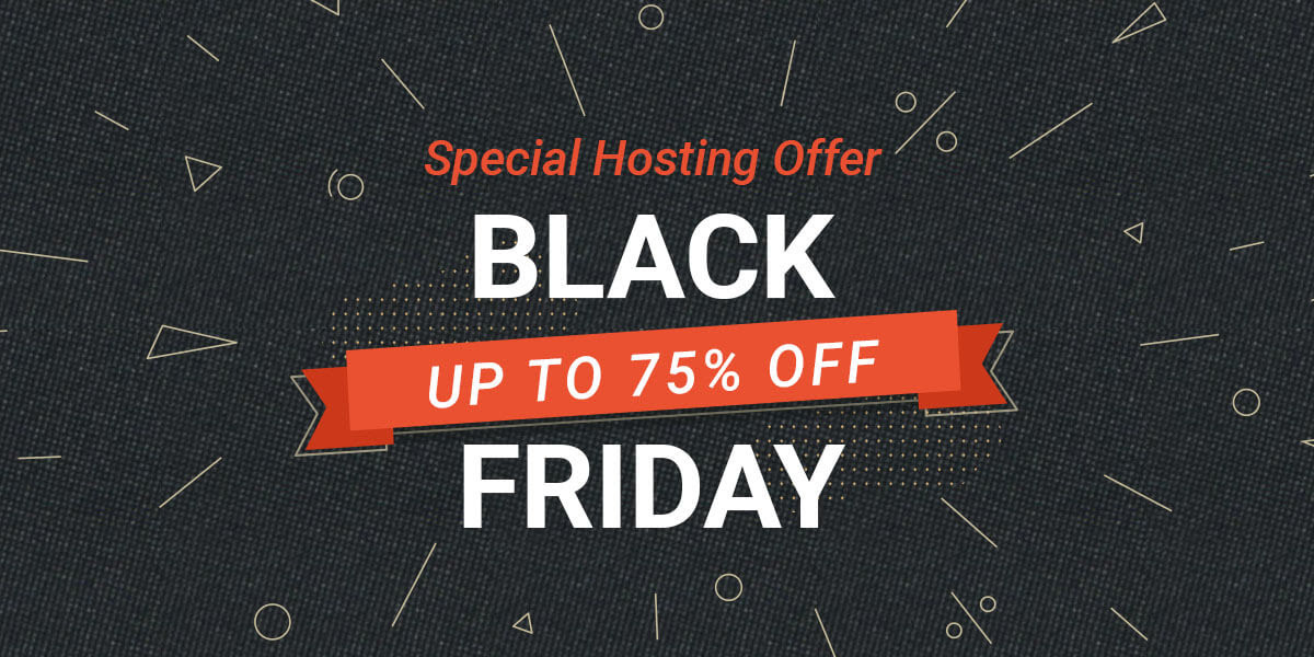 siteground black friday 2020 - 75% OFF