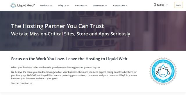 Highlights of Hosting with Liquid Web