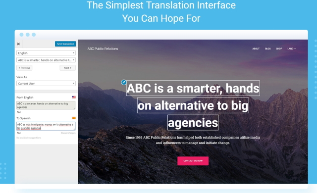 How to build a multilingual website with TranslatePress1