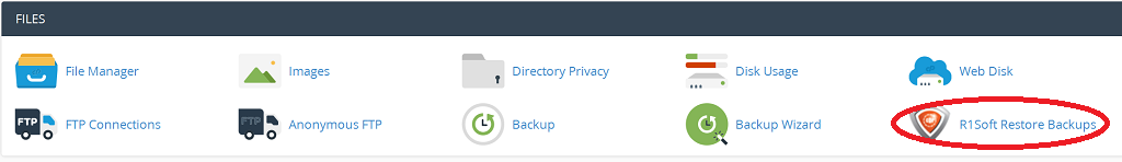 cpanel r1soft backups