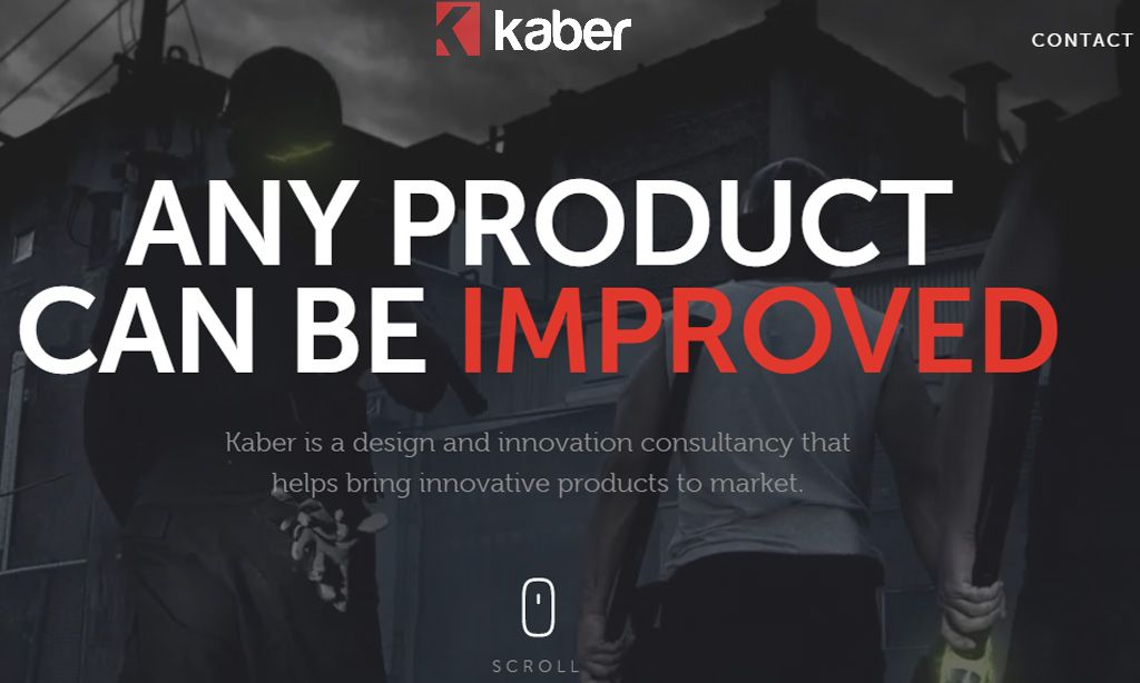 exemplo de webdesign kabertech-dark