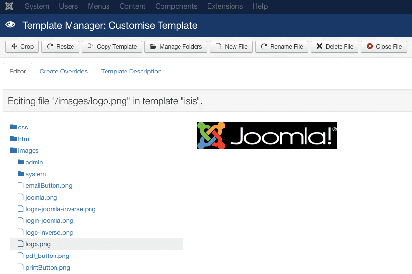 69 change logo in joomla admin joomla tips and tricks for Joomla administrator templates