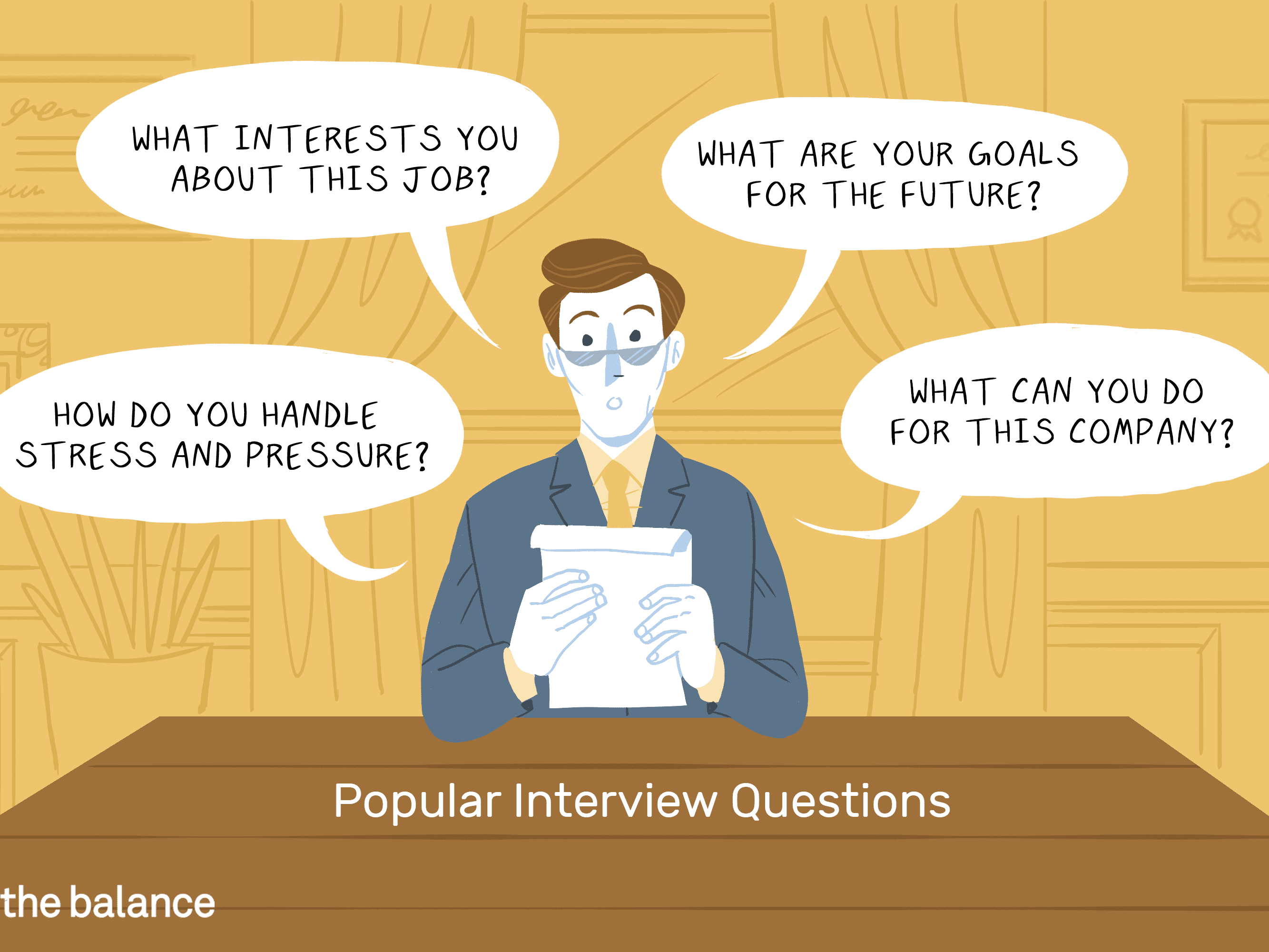 principais perguntas da entrevista de emprego