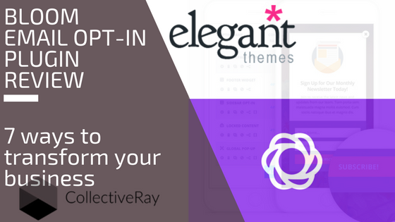 Elegant Themes Bloom email opt-in plugin