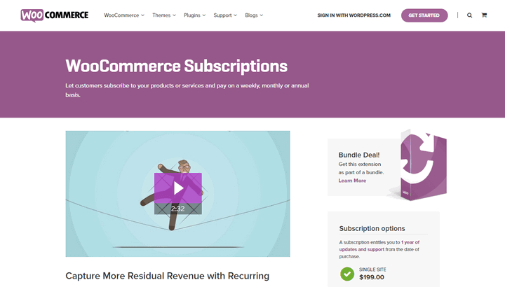 WooCommerce Assinaturas