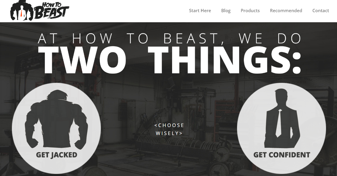 How to beast website example